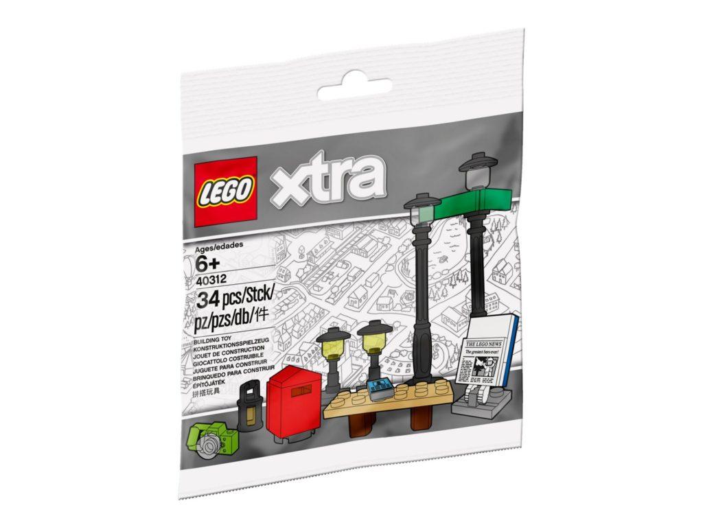 LEGO® xtra Straßenlaternen (40312) - Bild 1 | ©LEGO Gruppe