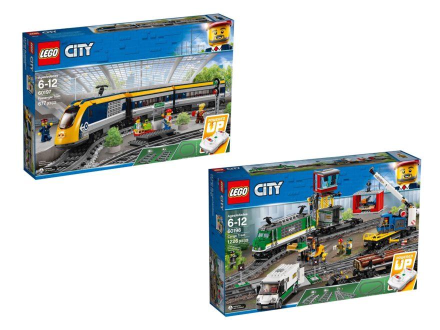 LEGO® Personenzug (60197) und Güterzug (60198) - Titelbild | ©LEGO Gruppe