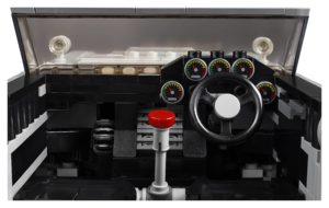 10262_LEGO-Creator-Expert_James-Bond-Aston-Martin-DB5_Innenraum | ©2018 LEGO Gruppe