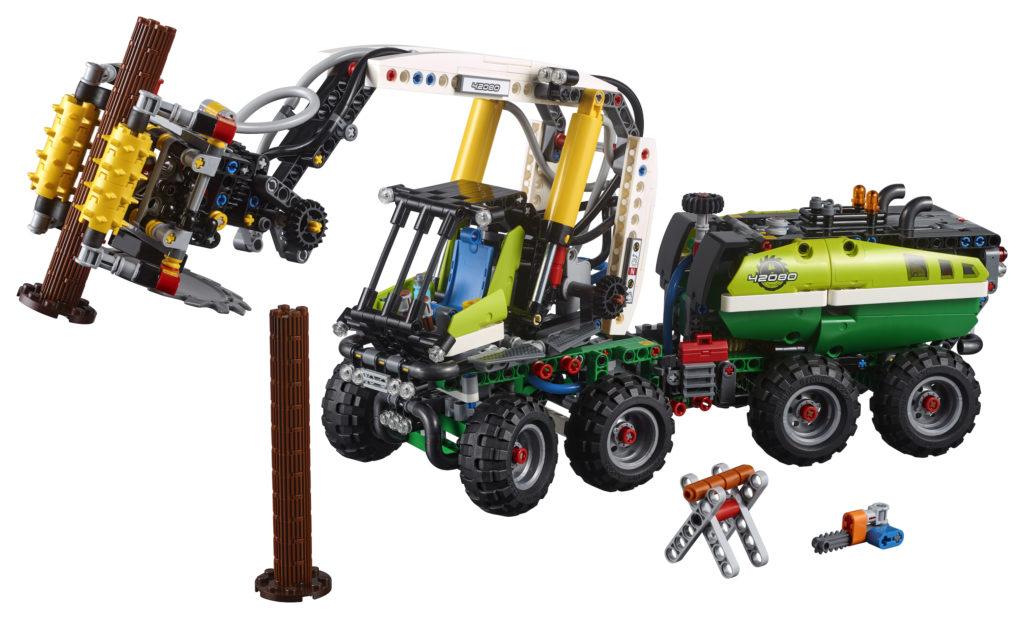 LEGO® Technic Harvester Forstmaschine (42080) - Produkt | ©LEGO Gruppe