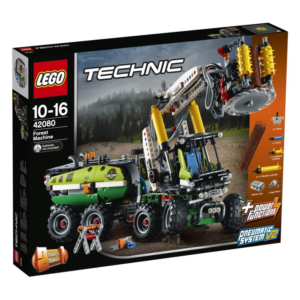 LEGO® Technic Harvester Forstmaschine (42080) - Packung | ©LEGO Gruppe