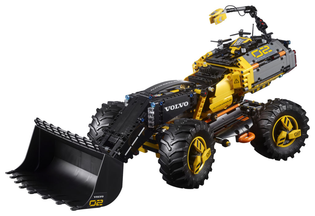 LEGO® Technic Volvo Konzept-Radlader ZEUX (42081) - Produkt | ©LEGO Gruppe