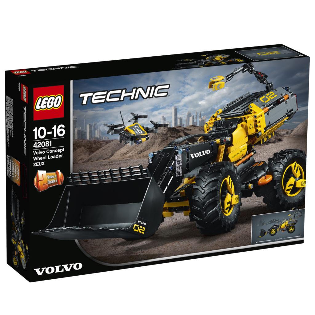 LEGO® Technic Volvo Konzept-Radlader ZEUX (42081) - Packung | ©LEGO Gruppe