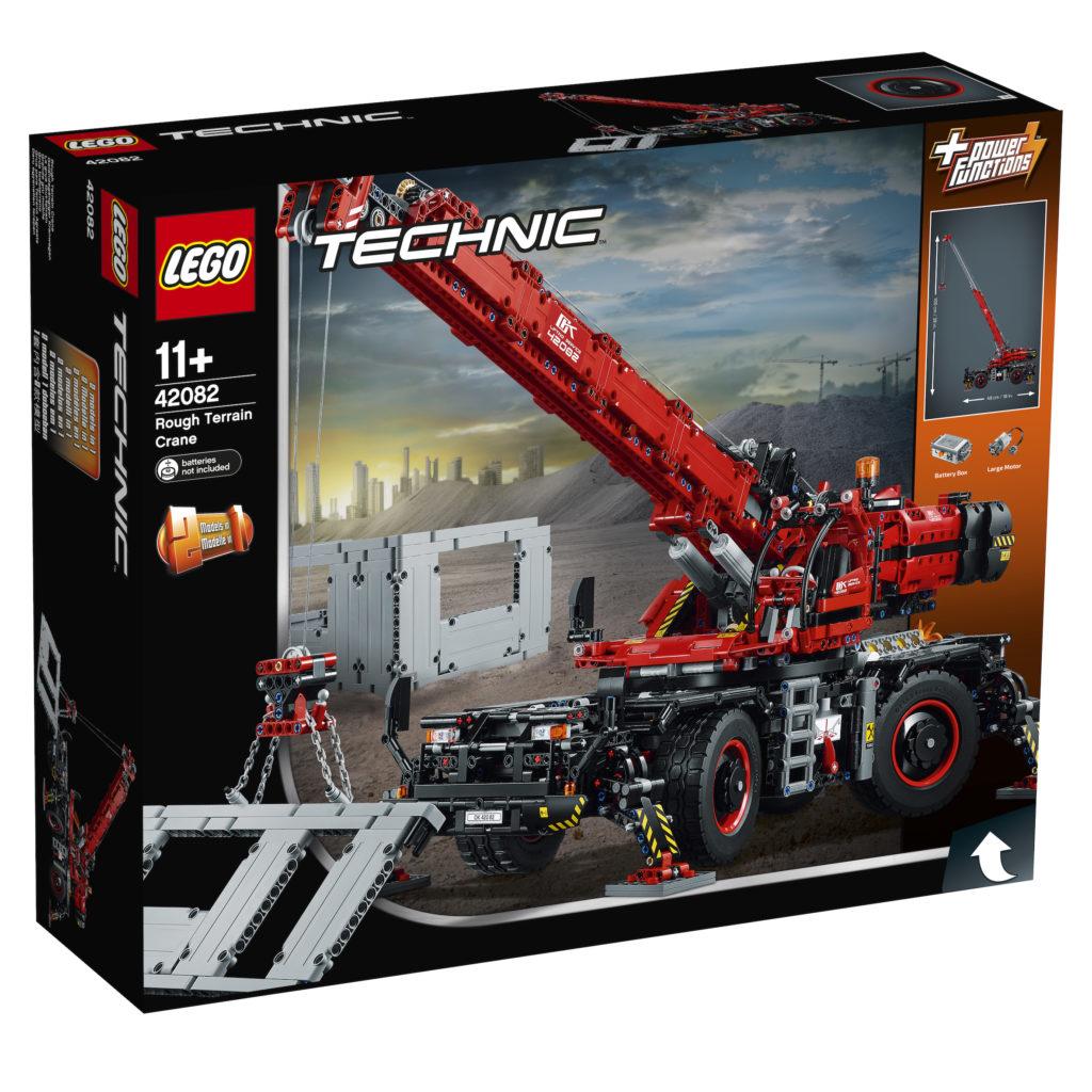 LEGO® Technic Geländegängiger Kranwagen (42082) - Packung | ©LEGO Gruppe