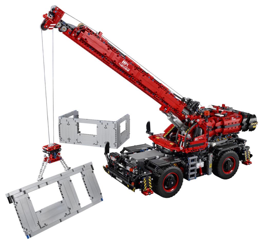 LEGO® Technic Geländegängiger Kranwagen (42082) - Produkt | ©LEGO Gruppe