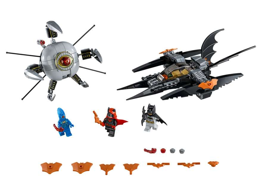 LEGO® DC Comics™ Super Heroes Batman™: Brother Eye™ Takedown (76111) - Set | ©2018 LEGO Gruppe