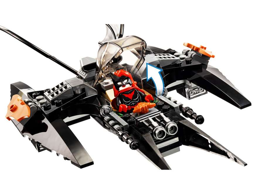 LEGO® DC Comics™ Super Heroes Batman™: Brother Eye™ Takedown (76111) - Batwing | ©2018 LEGO Gruppe