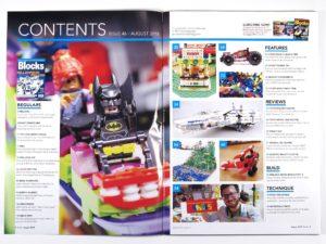LEGO Blocks Magazin Ausgabe 46 - Inhalt