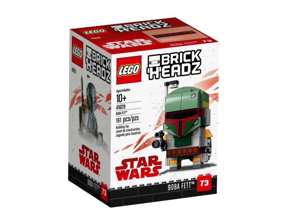 LEGO® Brickheadz™ Boba Fett™ (41629) - Packung Vorderseite | ©2018 LEGO Gruppe