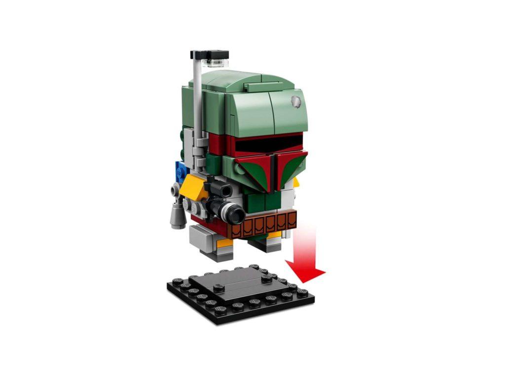LEGO® Brickheadz™ Boba Fett™ (41629) - Set 2 | ©2018 LEGO Gruppe