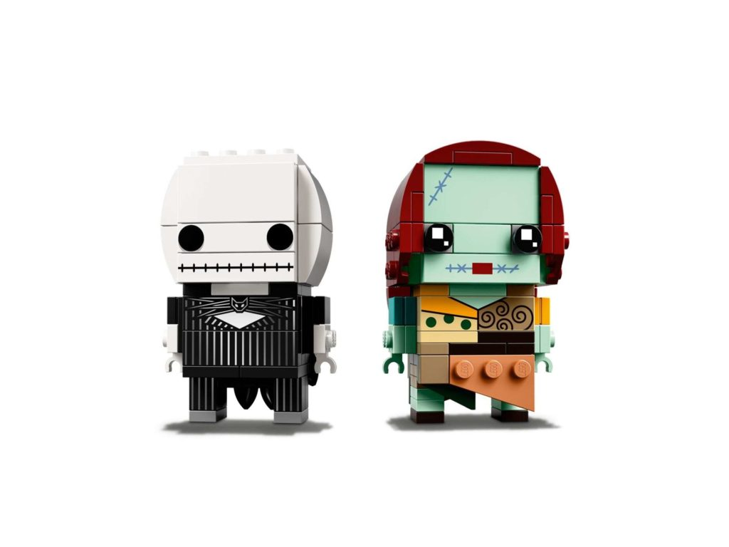 LEGO® Brickheadz™ Jack Skellington & Sally (41630) - Set 3 | ©2018 LEGO Gruppe
