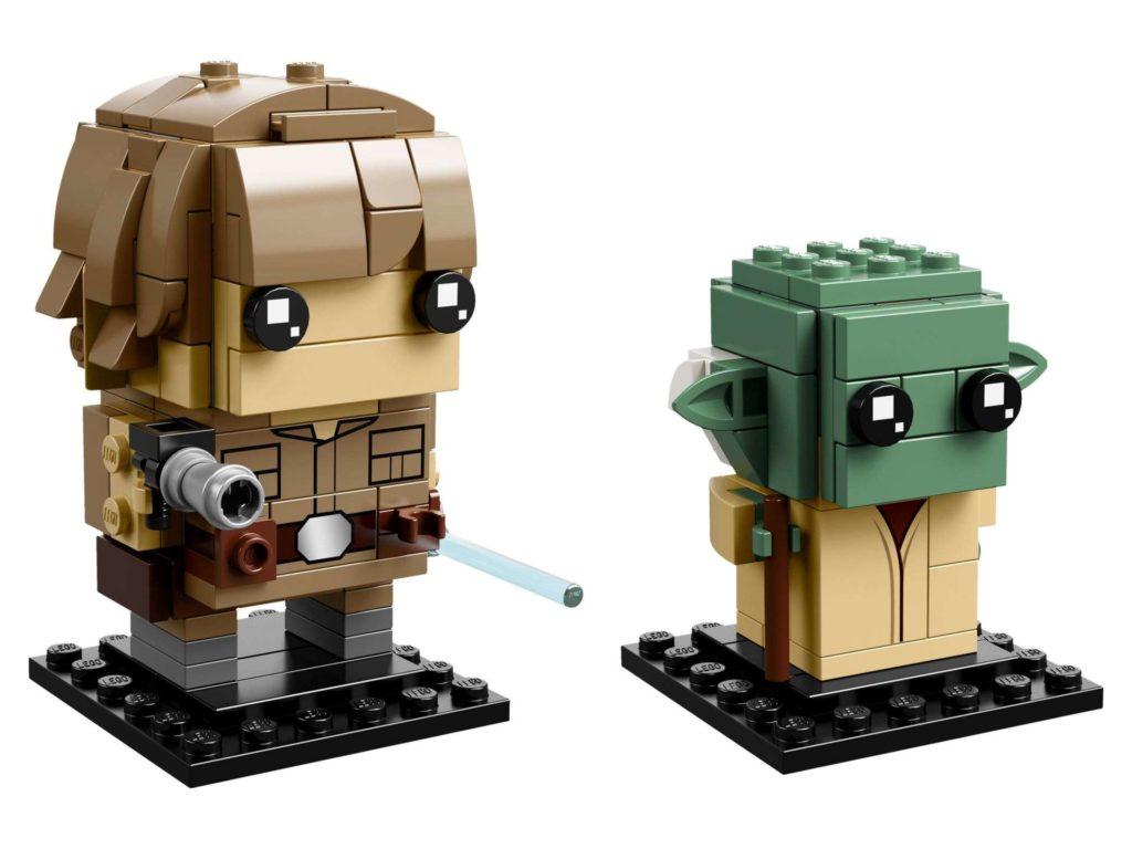 LEGO® Brickheadz™ Luke & Yoda™ (41627) - Set 1 | ©2018 LEGO Gruppe