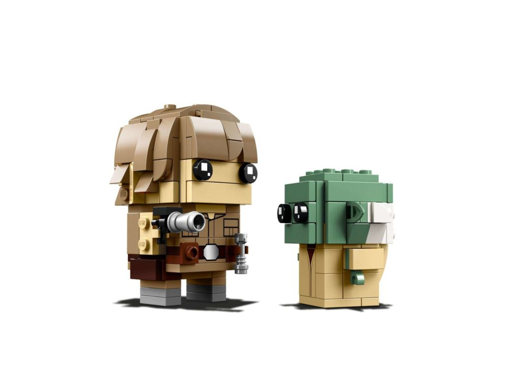 LEGO® Brickheadz™ Luke & Yoda™ (41627) - Set 3 | ©2018 LEGO Gruppe