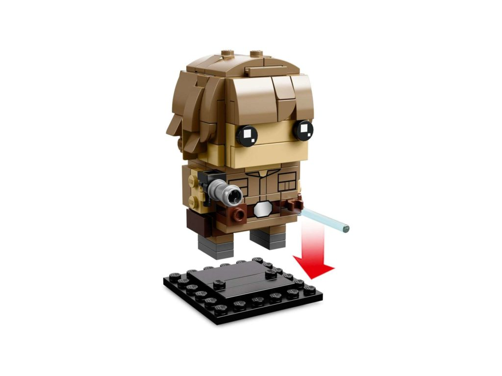 LEGO® Brickheadz™ Luke & Yoda™ (41627) - Set 2 | ©2018 LEGO Gruppe