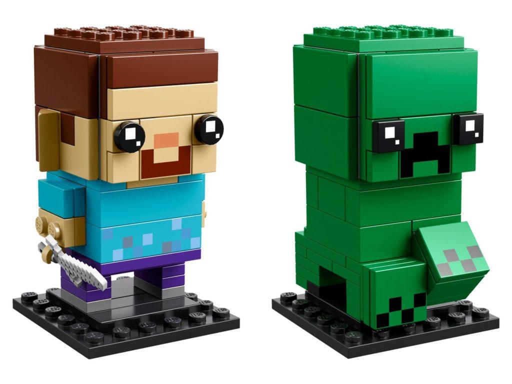 LEGO® Brickheadz™ Steve und Creeper (41612) - Bild 1 | ©LEGO Gruppe