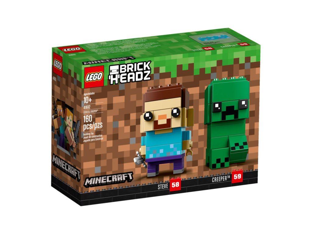 LEGO® Brickheadz™ Steve und Creeper (41612) - Bild 2 | ©LEGO Gruppe