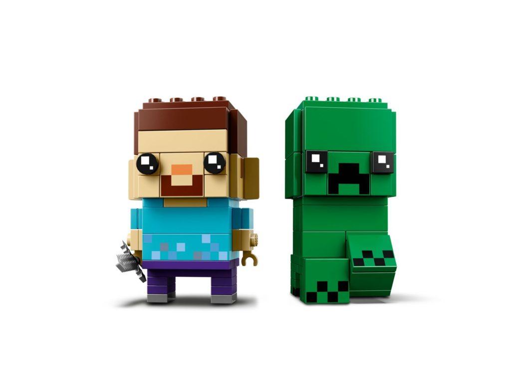 LEGO® Brickheadz™ Steve und Creeper (41612) - Bild 3 | ©LEGO Gruppe