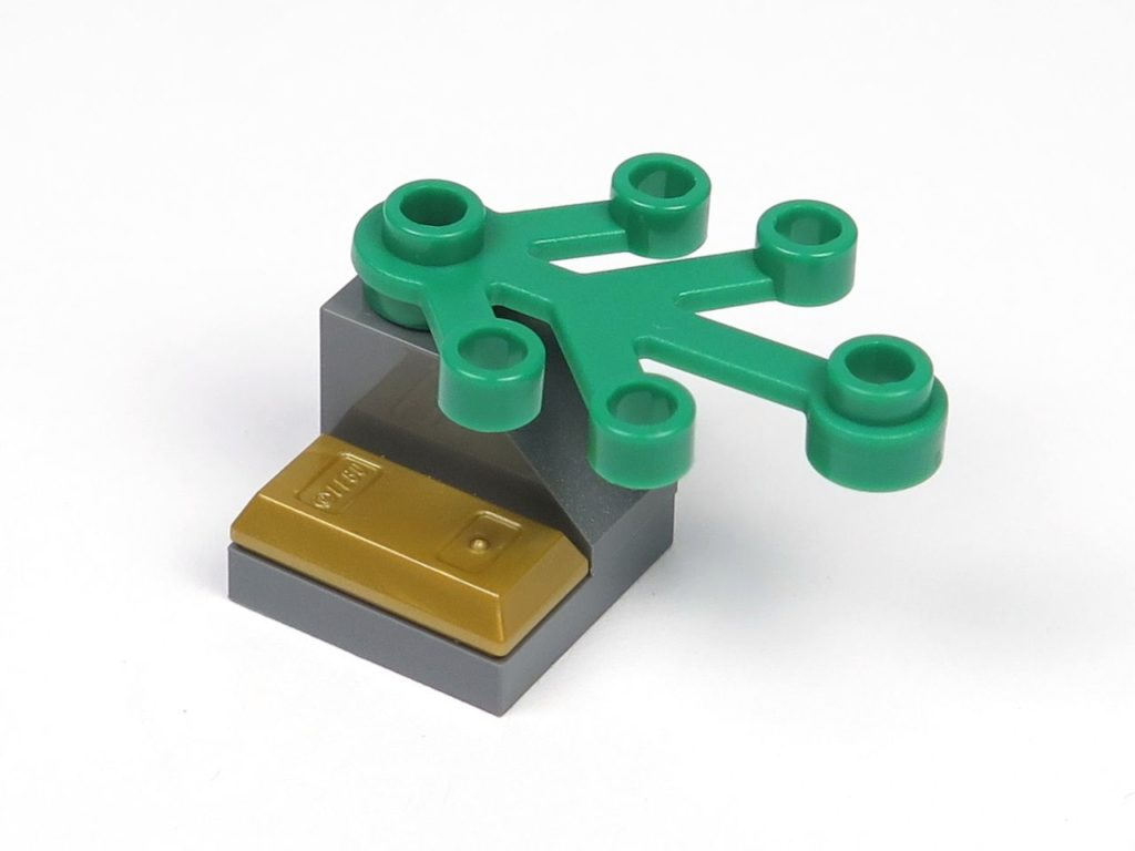 LEGO® City Magazin Nr. 8 - Goldbarren unter Ast | ©2018 Brickzeit