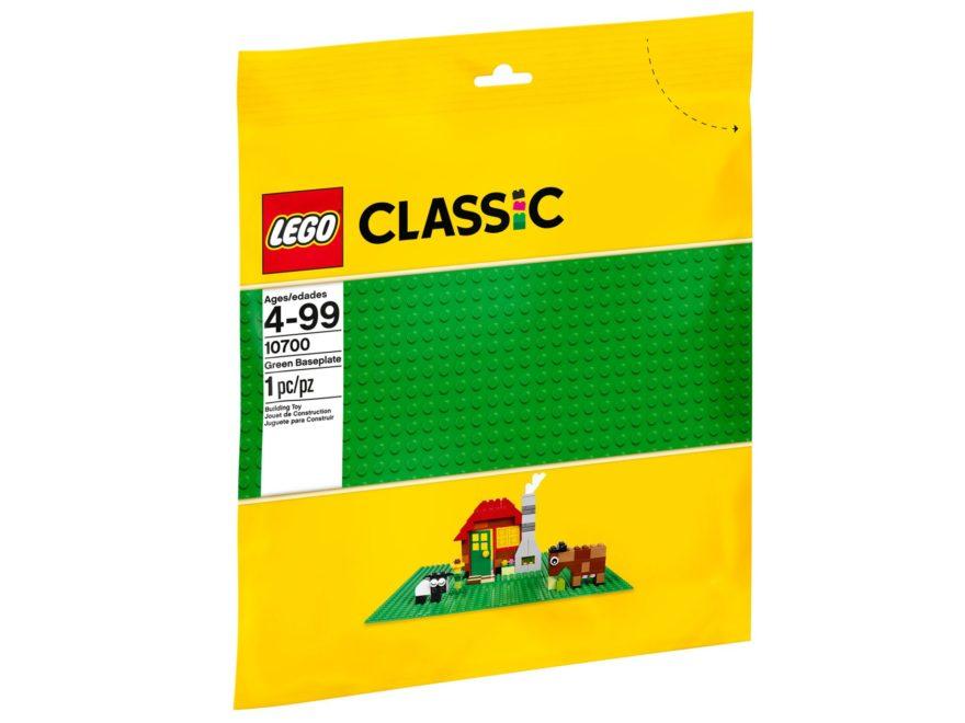 LEGO® Classic Grüne Grundplatte (10700) | ©LEGO Gruppe