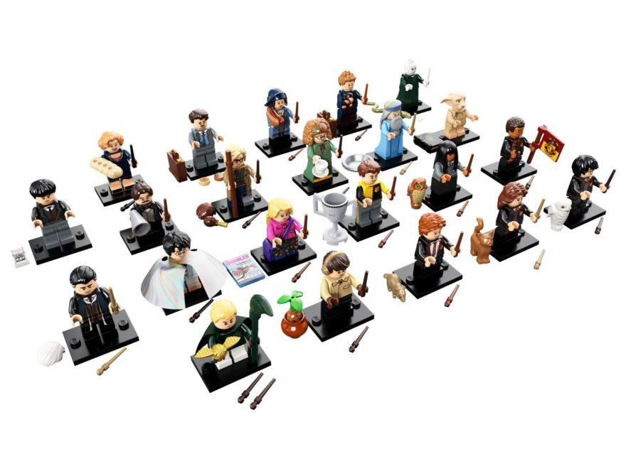 LEGO® Harry Potter Minifiguren Serie (71022) - alle Figuren, Perspektive | ©2018 LEGO Gruppe