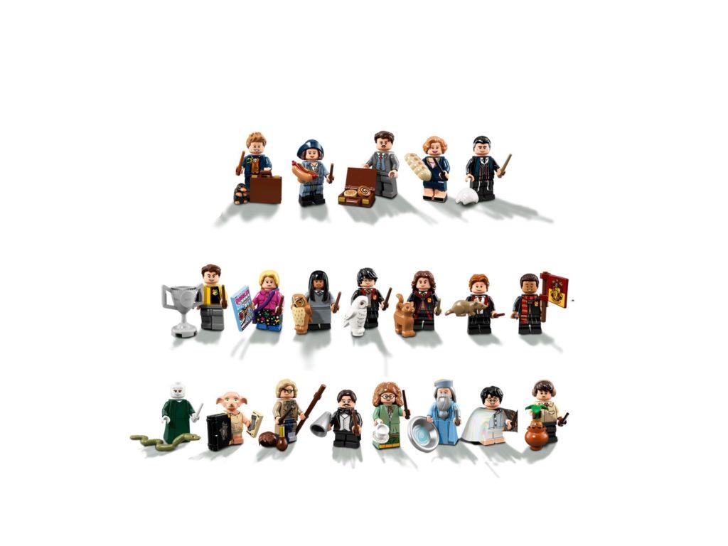 LEGO® Harry Potter Minifiguren Serie (71022) - Vorderseite | ©2018 LEGO Gruppe