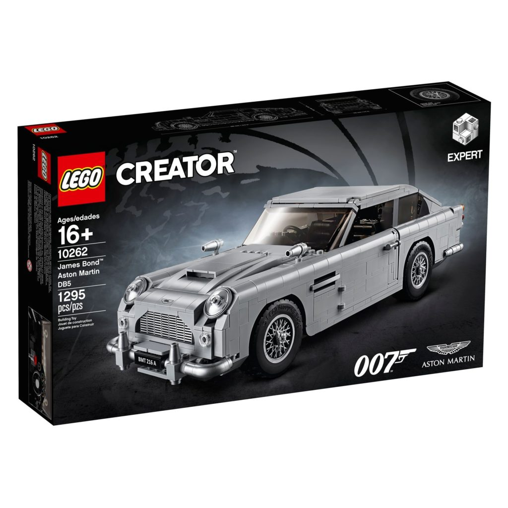 LEGO® James Bond Aston Martin DB5 (10262) - Bild 2 | ©2018 LEGO Gruppe