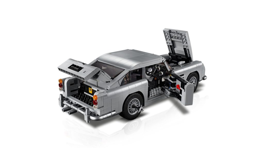 LEGO® James Bond Aston Martin DB5 (10262) - Bild 3 | ©2018 LEGO Gruppe