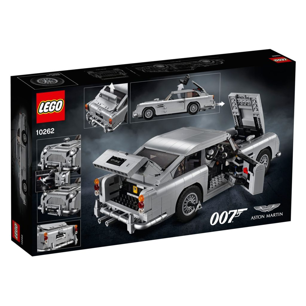 LEGO® James Bond Aston Martin DB5 (10262) - Bild 6 | ©2018 LEGO Gruppe
