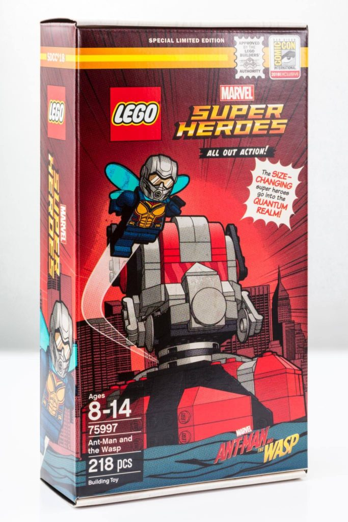 LEGO® Marvel Super Heroes Ant-Man and the Wasp (75997) - Packung | ©LEGO Gruppe