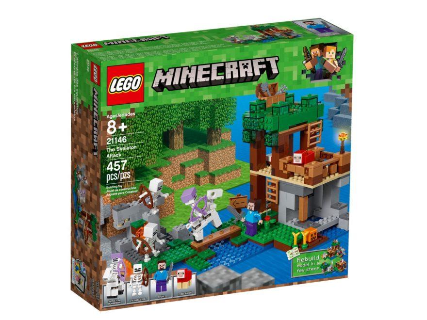 LEGO® Minecraft Die Skelette kommen (21146) - Bild 2 | ©LEGO Gruppe