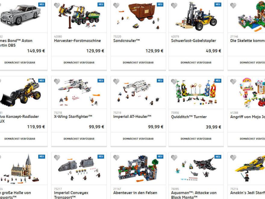 LEGO® Neuheiten Sommer 2018 - Shopübersicht - Titelbild | ®LEGO Gruppe
