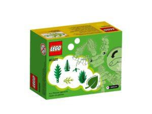 LEGO® Pflanzen aus Pflanzen (40320) - Packung Rückseite | ©LEGO Gruppe