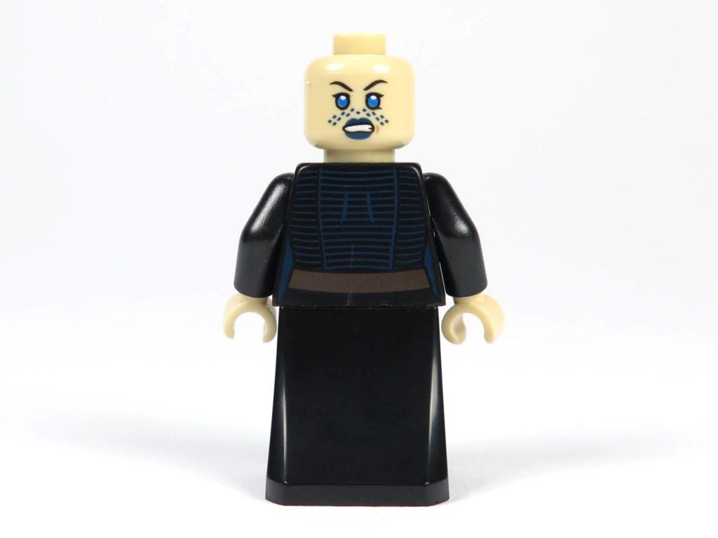LEGO® Star Wars™ Jedi™ und Clone Troopers™ Battle Pack (75206) - Barriss Offee mit Kapuze und Umhang, Rückseite | ©2018 Brickzeit