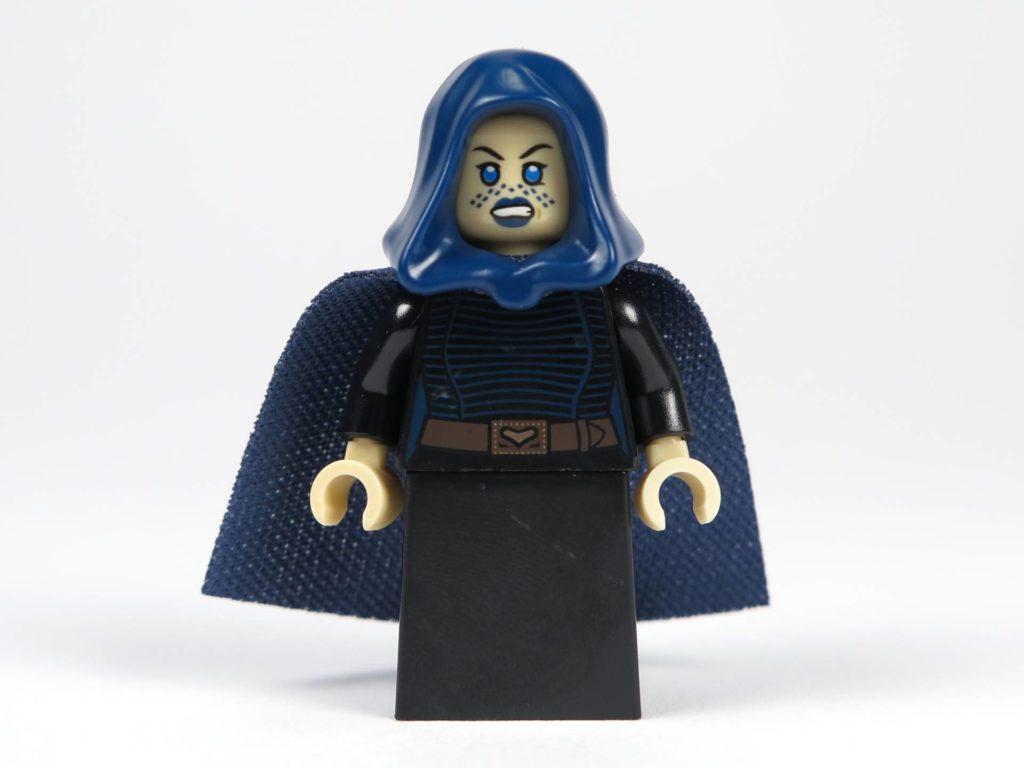 LEGO® Star Wars™ Jedi™ und Clone Troopers™ Battle Pack (75206) - Barriss Offee mit Kapuze und Umhang, Vorderseite mit alternativem Gesicht | ©2018 Brickzeit