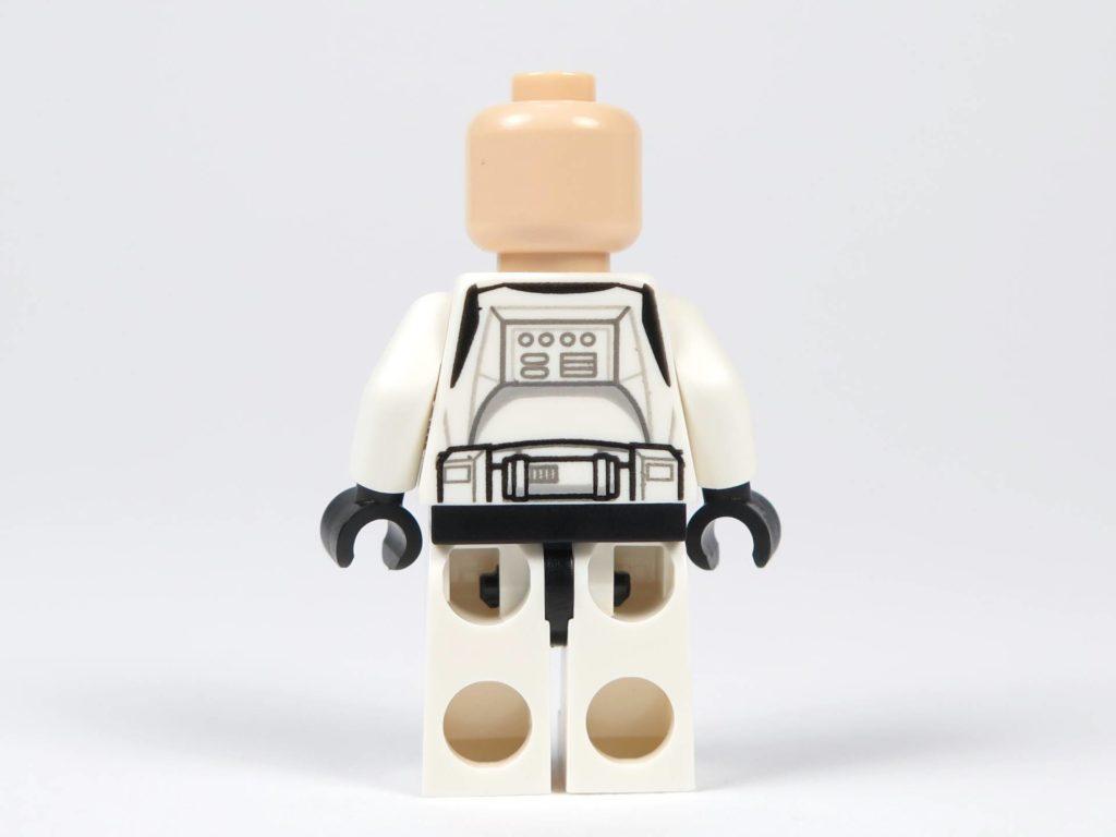 LEGO® Star Wars™ Jedi™ und Clone Troopers™ Battle Pack (75206) - Clone Trooper ohne Helm, Rückseite| ©2018 Brickzeit