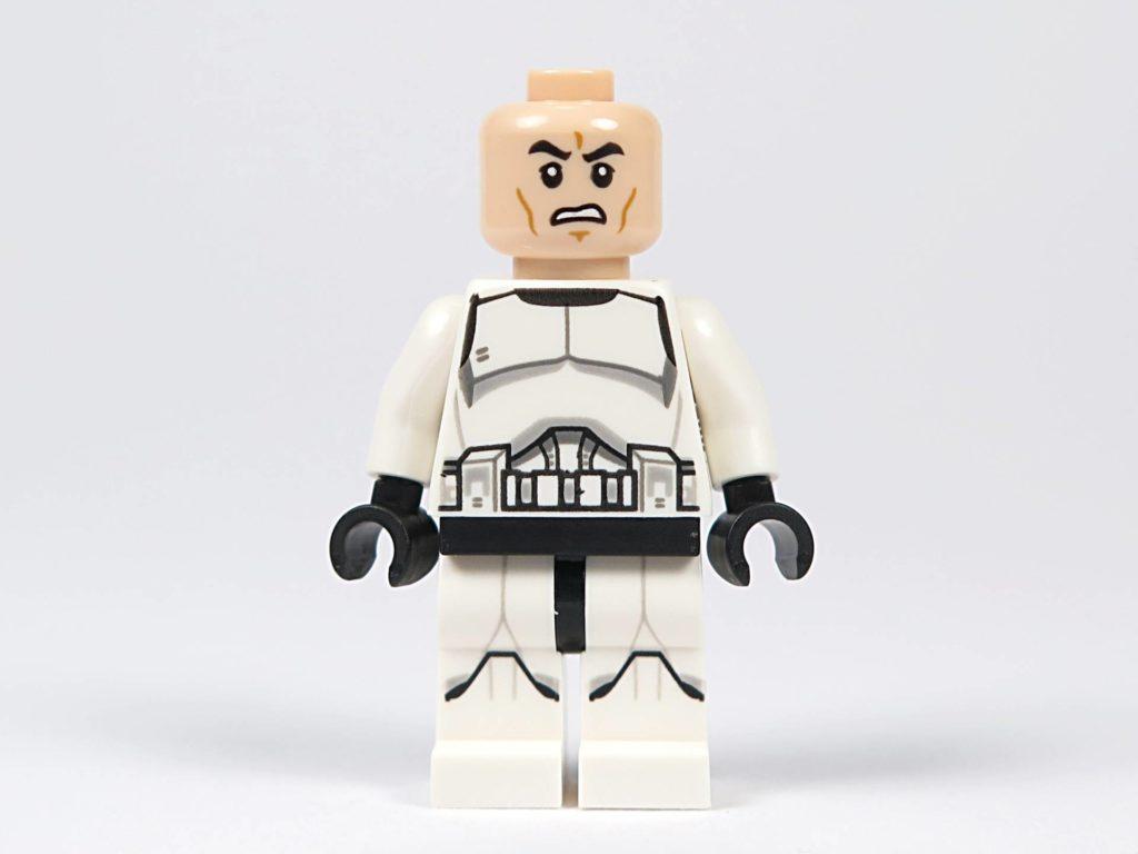 LEGO® Star Wars™ Jedi™ und Clone Troopers™ Battle Pack (75206) - Clone Trooper ohne Helm, Vorderseite| ©2018 Brickzeit