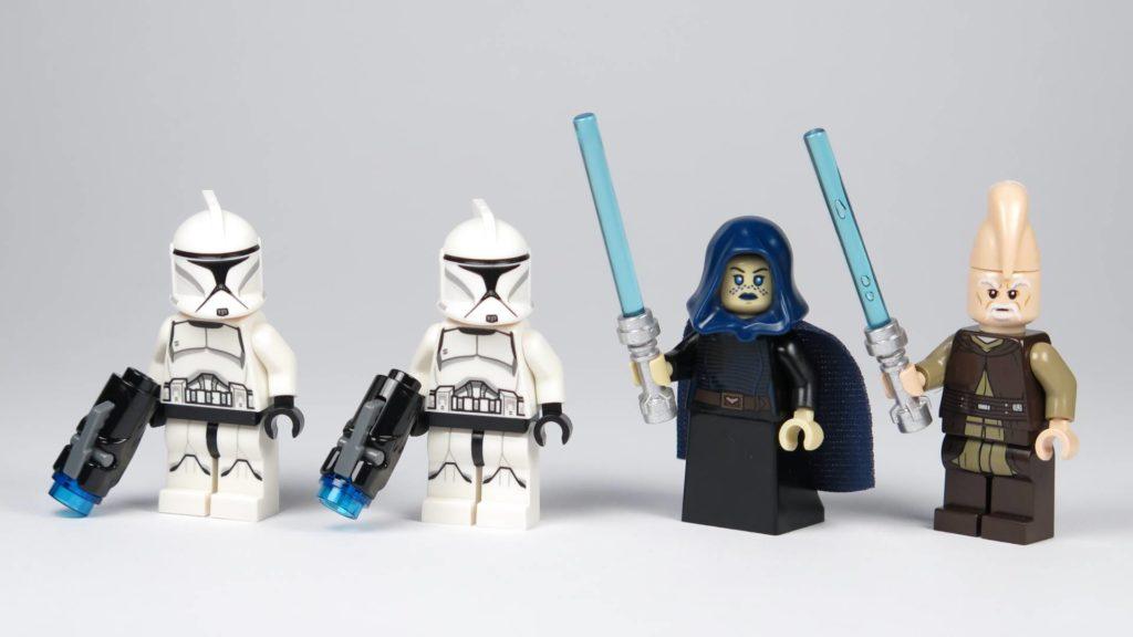LEGO® Star Wars™ Jedi™ und Clone Troopers™ Battle Pack (75206) - alle Minifiguren   ©2018 Brickzeit