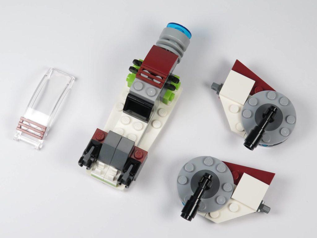 LEGO® Star Wars™ Jedi™ und Clone Troopers™ Battle Pack (75206) - Speeder Bestandteile | ©2018 Brickzeit