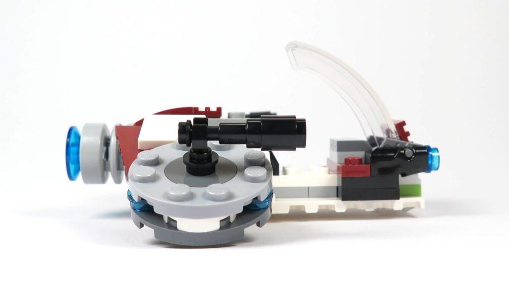 LEGO® Star Wars™ Jedi™ und Clone Troopers™ Battle Pack (75206) - Speeder rechte Seite | ©2018 Brickzeit