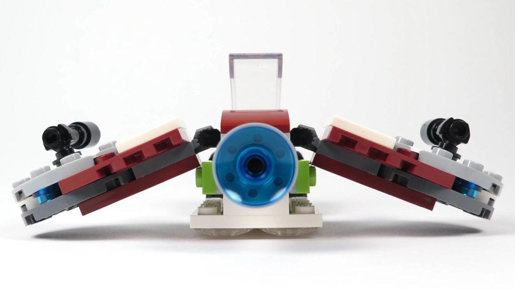 LEGO® Star Wars™ Jedi™ und Clone Troopers™ Battle Pack (75206) - Speeder Rückseite | ©2018 Brickzeit