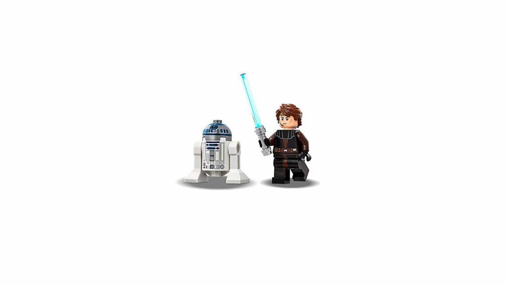 LEGO® Star Wars™ Anakins Jedi Starfighter (75214) Minifiguren | ©2018 LEGO Gruppe