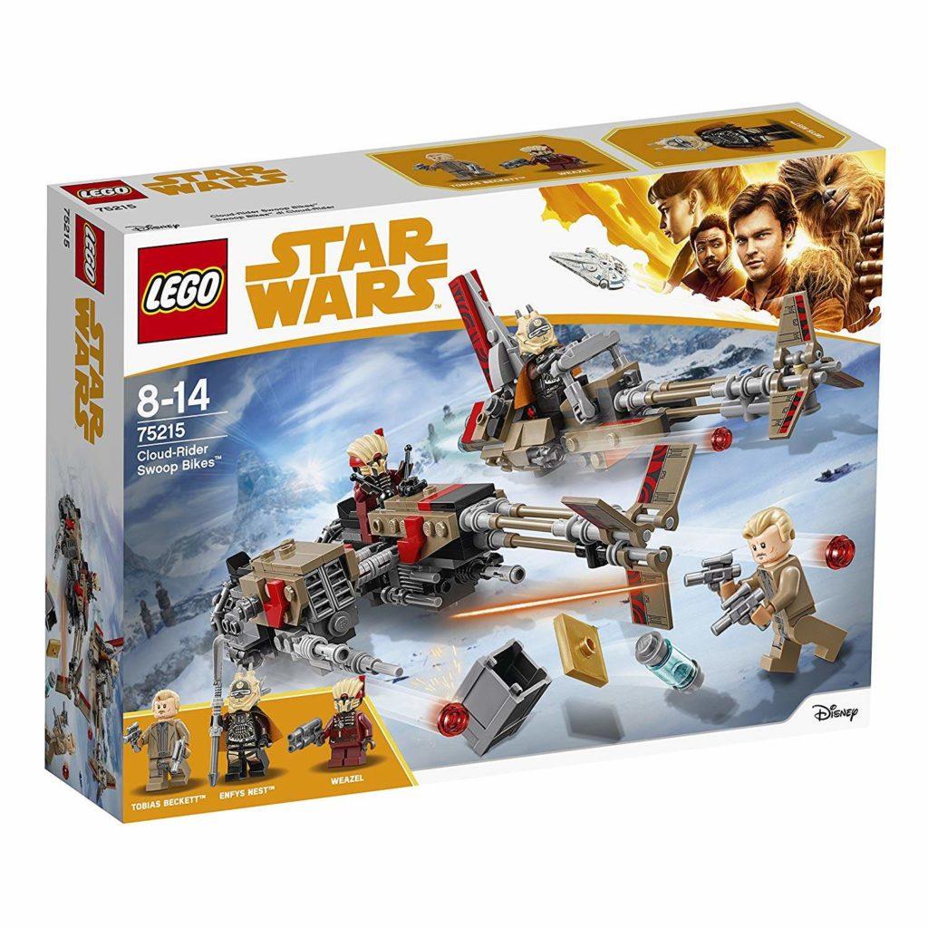 LEGO® Star Wars™ Cloud-Rider Swoop Bikes (75215) Packung Vorderseite | ©2018 LEGO Gruppe