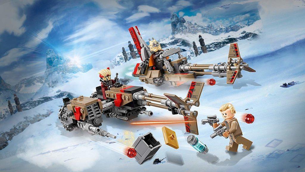 LEGO® Star Wars™ Cloud-Rider Swoop Bikes (75215) Enfys Nest im Anflug | ©2018 LEGO Gruppe