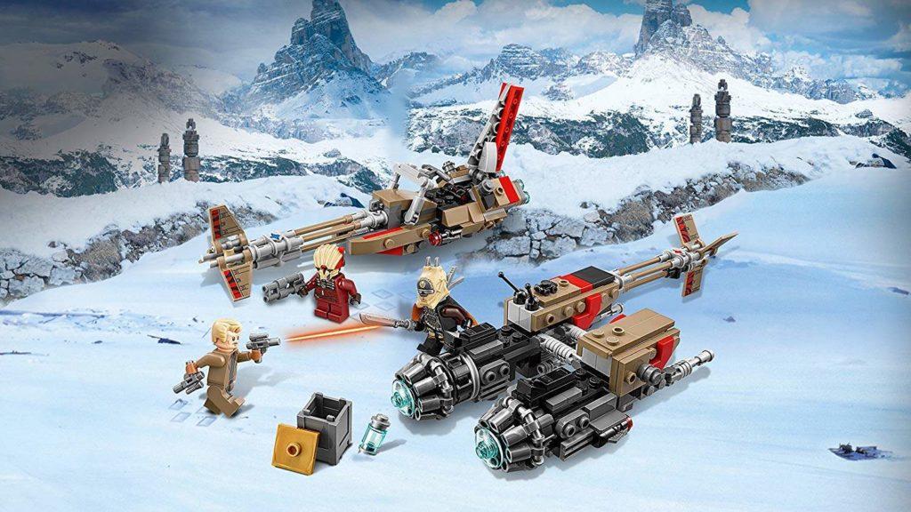 LEGO® Star Wars™ Cloud-Rider Swoop Bikes (75215) gelandet | ©2018 LEGO Gruppe