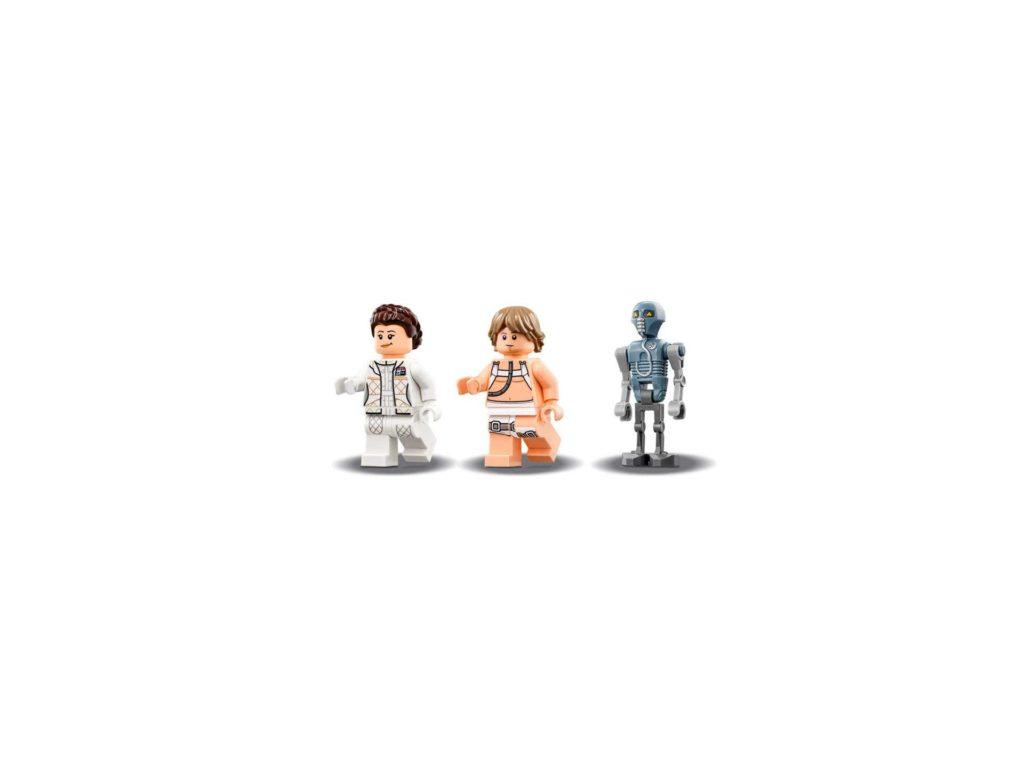 LEGO® Star Wars™ Heilkammer auf Hoth (75203) - Minifiguren | ©2018 LEGO Gruppe