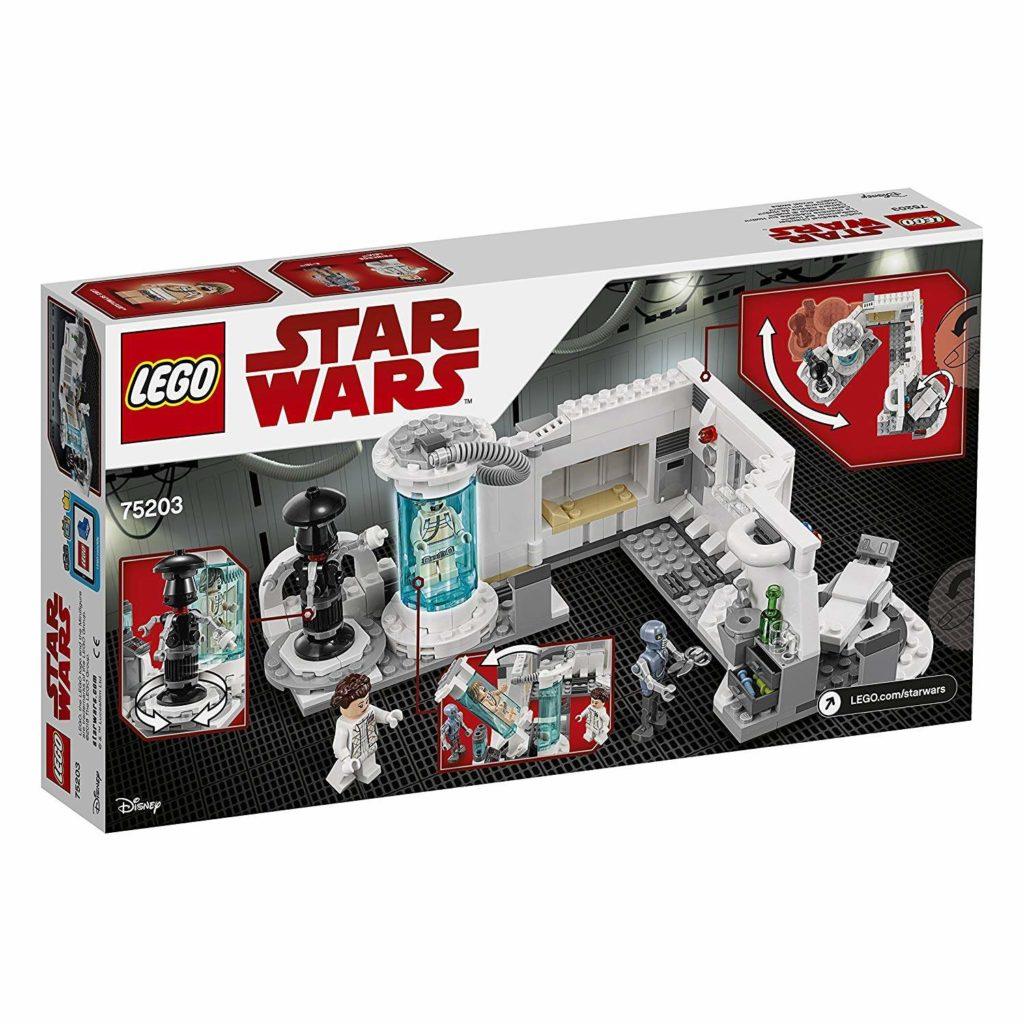 LEGO® Star Wars™ Heilkammer auf Hoth (75203) Packung Rückseite | ©2018 LEGO Gruppe