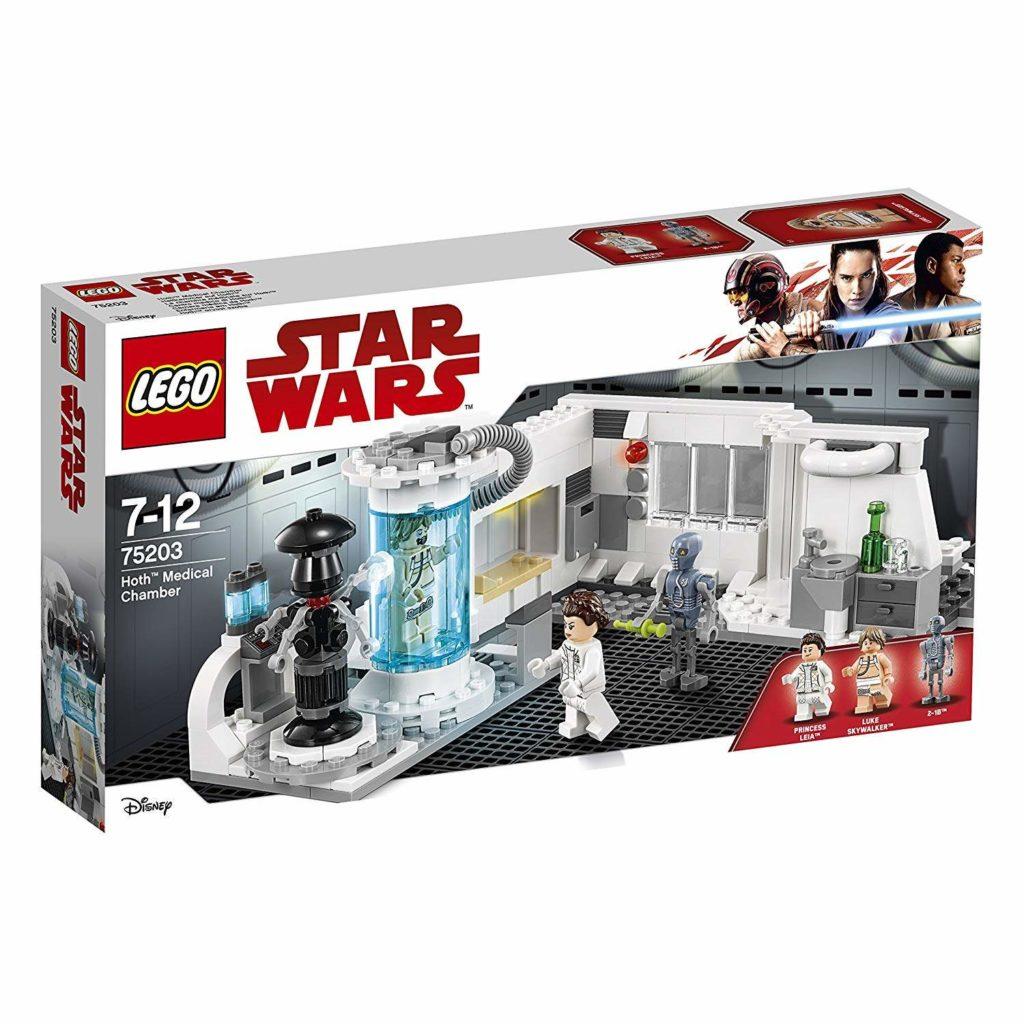 LEGO® Star Wars™ Heilkammer auf Hoth (75203) Packung Vorderseite | ©2018 LEGO Gruppe