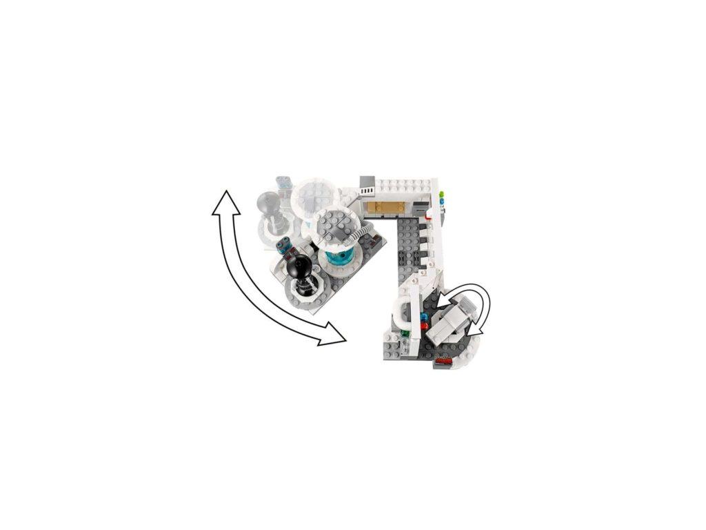 LEGO® Star Wars™ Heilkammer auf Hoth (75203) - Klappmechanismus | ©2018 LEGO Gruppe