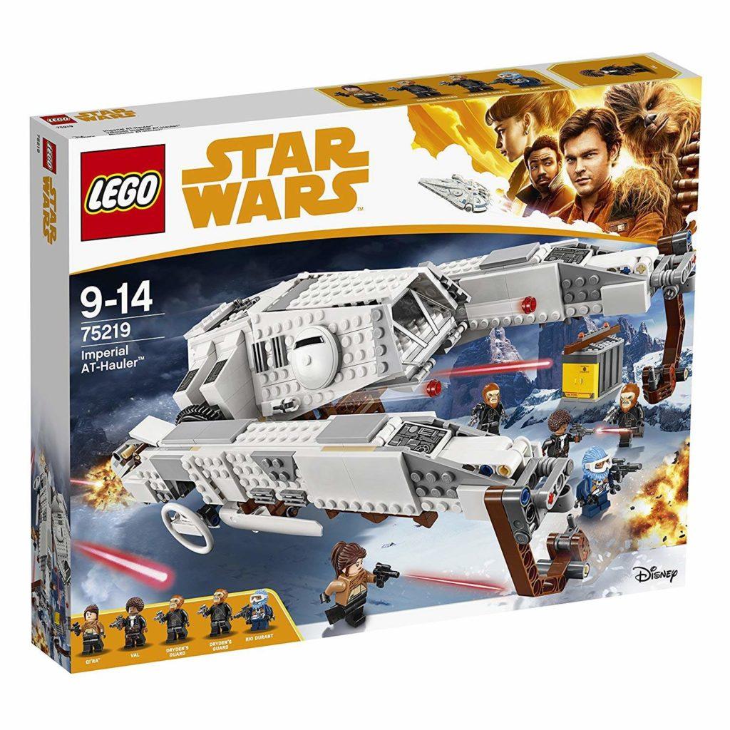 LEGO® Star Wars™ Imperialer AT Hauler (75219) Packung Vorderseite | ©2018 LEGO Gruppe