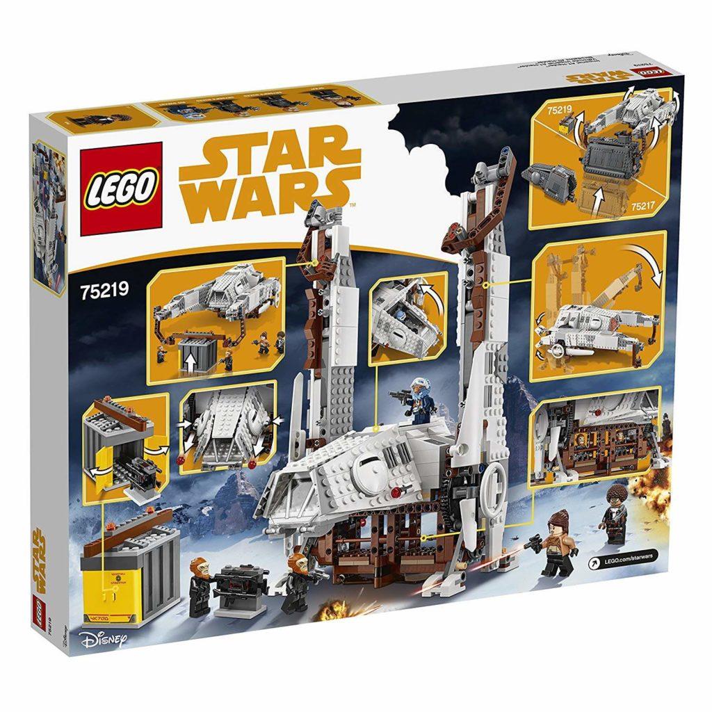 LEGO® Star Wars™ Imperialer AT Hauler (75219) Packung Rückseite | ©2018 LEGO Gruppe
